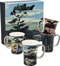 Load image into Gallery viewer, Group of Seven set of 4 Mugs