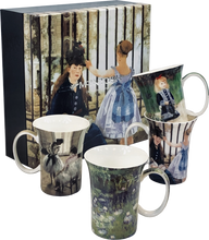 Load image into Gallery viewer, Impressionists set of 4 Mugs