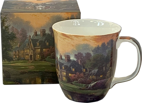 Kinkade Lakeside Manor Java Mug