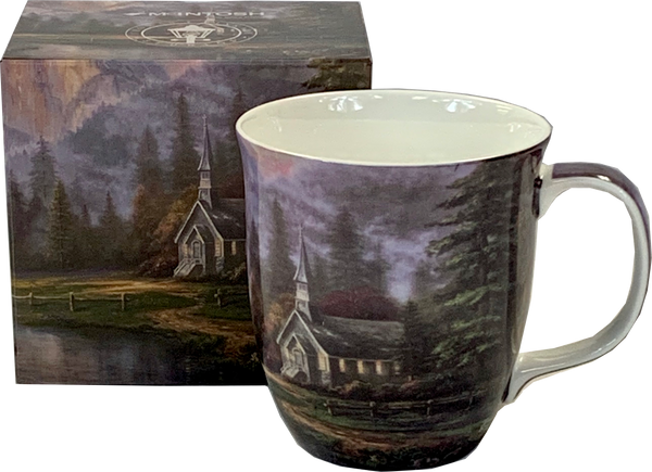 Kinkade Valley Chapel Java Mug