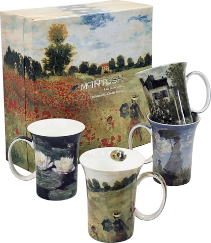 Monet set of 4 Mugs