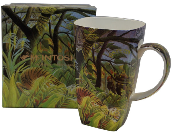 Rousseau Tiger in a Tropical Storm Grande Mug