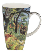 Load image into Gallery viewer, Rousseau Tiger in a Tropical Storm Grande Mug - McIntosh Shop - 1