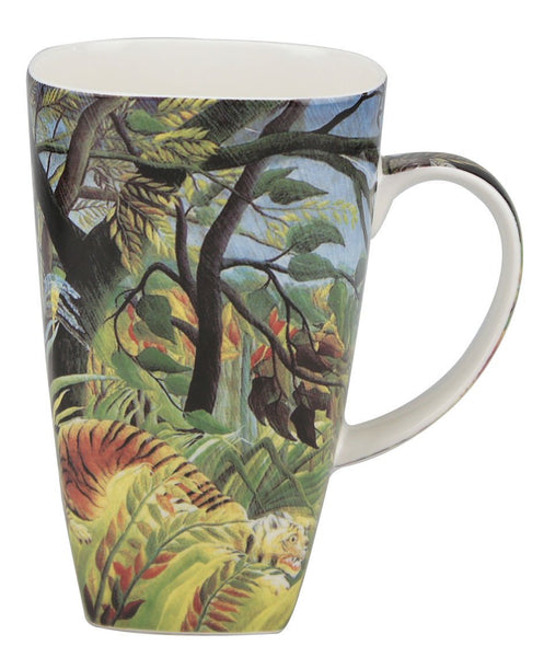Rousseau Tiger in a Tropical Storm Grande Mug - McIntosh Shop - 1