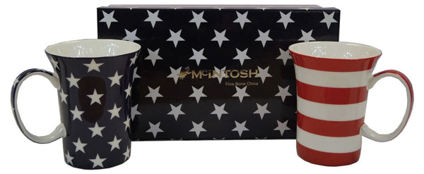 Stars & Stripes Mug Pair
