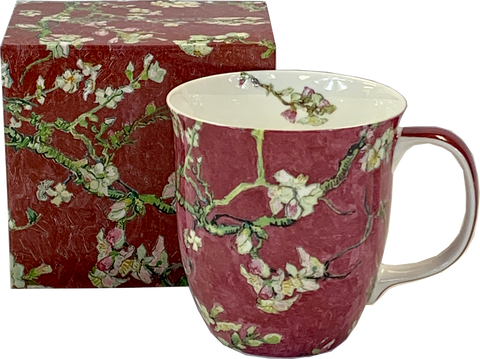Van Gogh Almond Blossom Red Java Mug