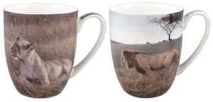 Bateman Lions Mug Pair - McIntosh Shop - 1