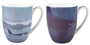 Bateman Orcas Mug Pair - McIntosh Shop - 1