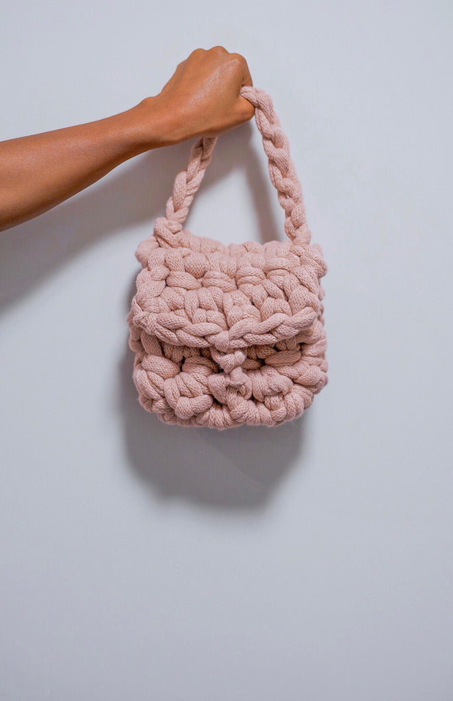 BABY ROSE MINI BAG.