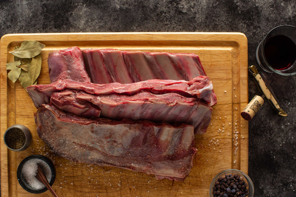 South Texas Antelope Short Ribs