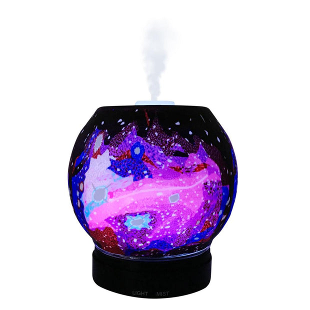 EssentialLitez Handcrafted Ultrasonic Essential Oil Diffusers (Galaxy) 1
