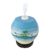 EssentialLitez Handcrafted Ultrasonic Essential Oil Diffusers (Tropical Beach) - himalayancrystallitez.com