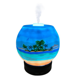 EssentialLitez Handcrafted Ultrasonic Essential Oil Diffusers (Tropical Beach)