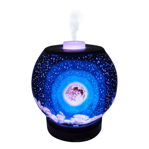 EssentialLitez Handcrafted Ultrasonic Essential Oil Diffusers (Moon) 1