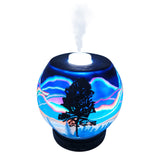 EssentialLitez Handcrafted Ultrasonic Essential Oil Diffusers (Northern Lights) - himalayancrystallitez.com