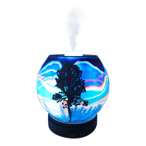 EssentialLitez Handcrafted Ultrasonic Essential Oil Diffusers (Northern Lights)