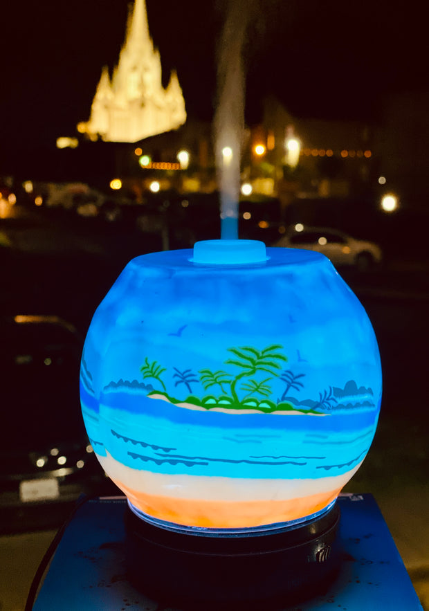 EssentialLitez Handcrafted Ultrasonic Essential Oil Diffusers (Tropical Beach) 1