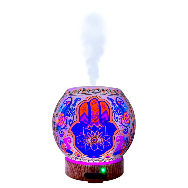 EssentialLitez Handcrafted Ultrasonic Essential Oil Diffusers (Hamsa) 1