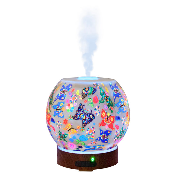 EssentialLitez Handcrafted Ultrasonic Essential Oil Diffusers (Butterfly)