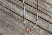 RED RHODOCHROSITE NECKLACE