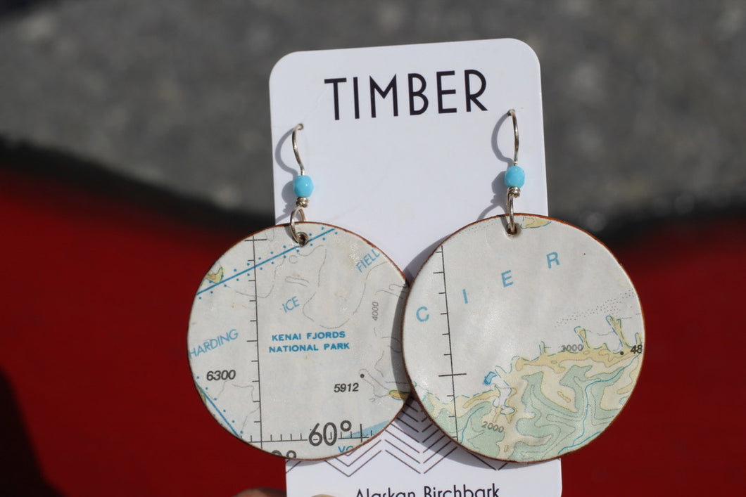 KENAI FJORDS BIRCH EARRINGS