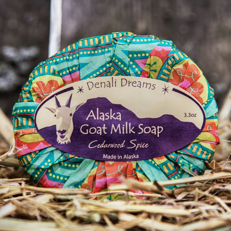 ALASKA GOAT MILK CEDARWOOD SOAP