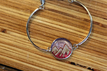 CIRCLE MOUNTAIN AND MOON BRACELET