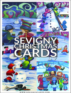 HOLIDAY GREETING CARDS 5 PACK