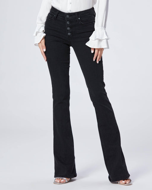 HIGH RISE LOU LOU W/ EXPOSED BUTTONFLY JEAN