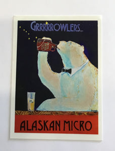 GROWLER BEAR STICKER