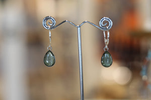 SHIMMER TEARDROP EARRINGS