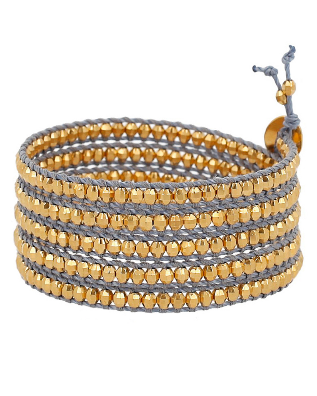 YELLOW GOLD/ MONTANA WRAP BRACELET