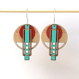 RED WRIGHT EARRINGS