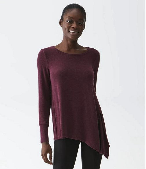 PRIMROSE ASYMMETRICAL TOP