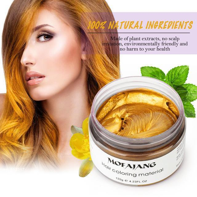 Temporary Hair Color Wax (7 Colors Available)