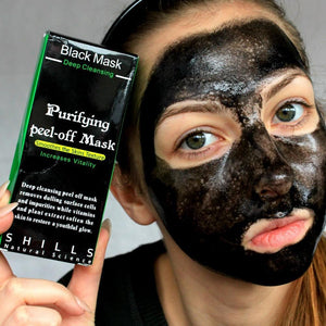 Deep Cleansing Purifying Peel-Off Black Mask