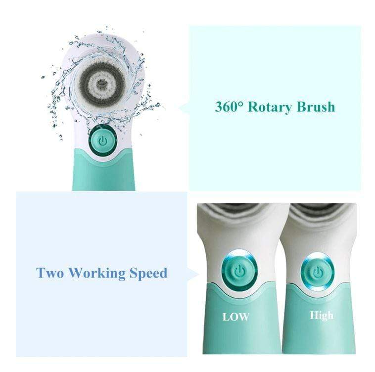 Electric Facial Brush Face Deep Cleansing Device FIRST CLASS CREW