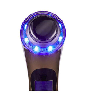 5 in 1 Ultrasonic High Frequency Galvanic Ion photon Facial Massager FIRST CLASS CREW