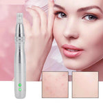 7 LED Photon Micro-Needling Electric Derma Pen With 12 Pin Nano Needles