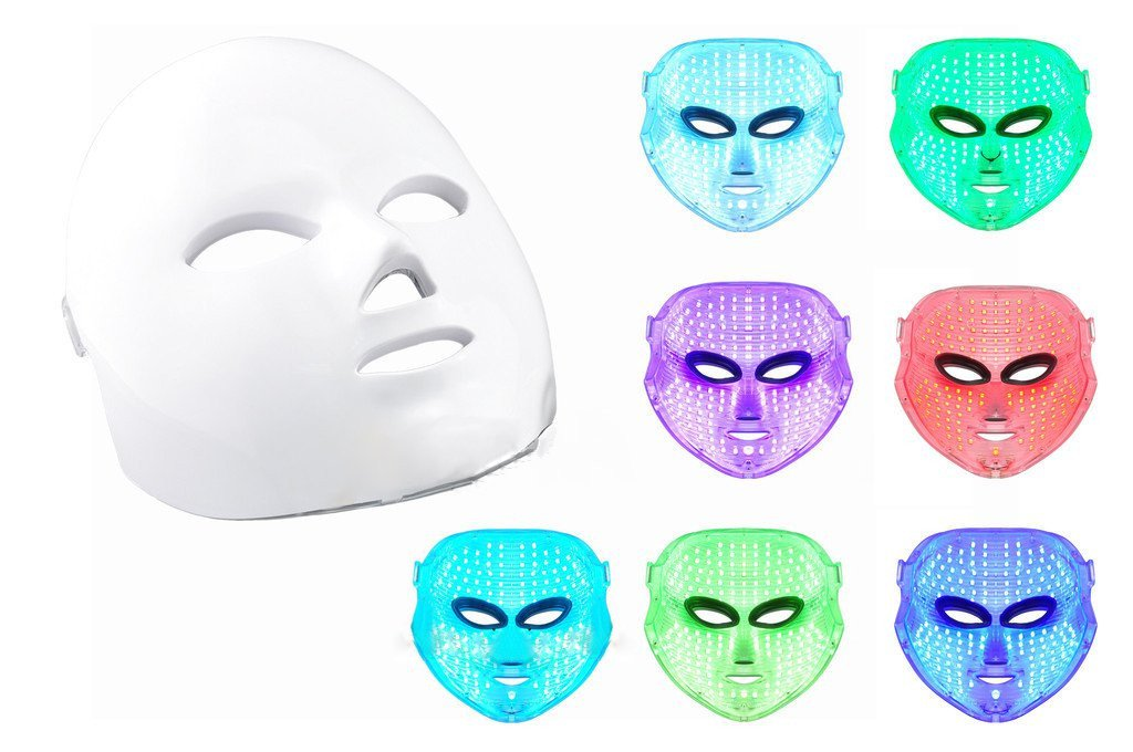 Photon Therapy Light Treatment Skin Rejuvenation LED Facial Mask