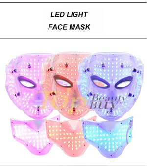 Professional Galvanic Regeneration LED Light Facial Mask