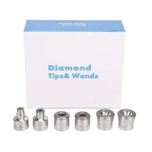 Diamond Microdermabrasion Dermabrasion 3 Wands 9 Tips Replacement FIRST CLASS CREW