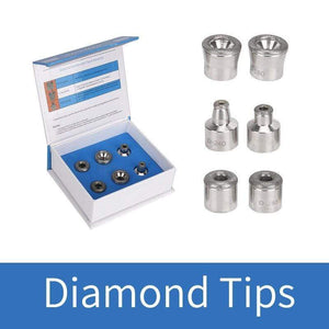 Diamond Microdermabrasion Dermabrasion 3 Wands 9 Tips Replacement FIRST CLASS CREW 9 tips
