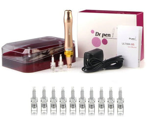Dr. Pen Ultima M5 Gold Rechargeable Microneedle Pen System