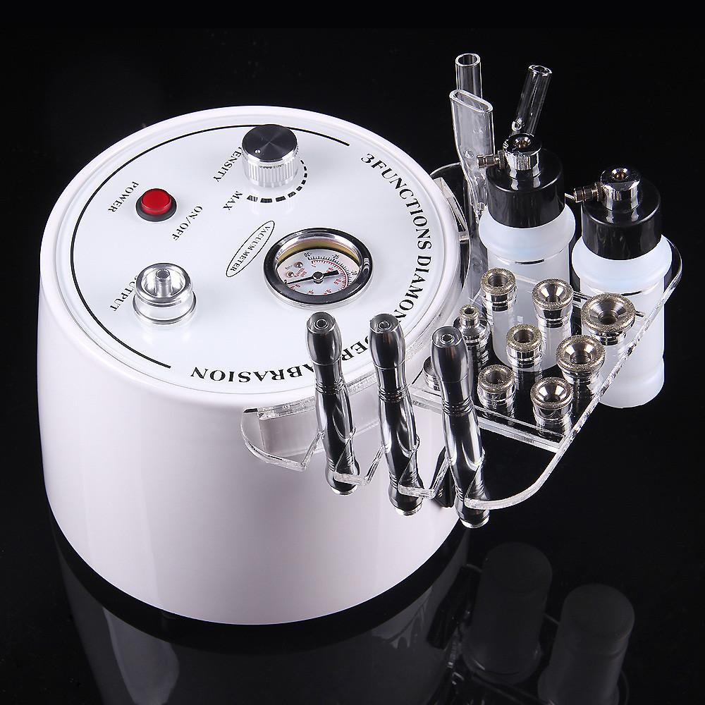 3 In 1 Diamond Microdermabrasion Vacuum Spray Skin Rejuvenation Machine