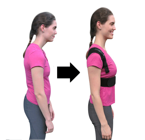 Magnetic Therapy Posture Corrector Fully Adjustable Back Brace
