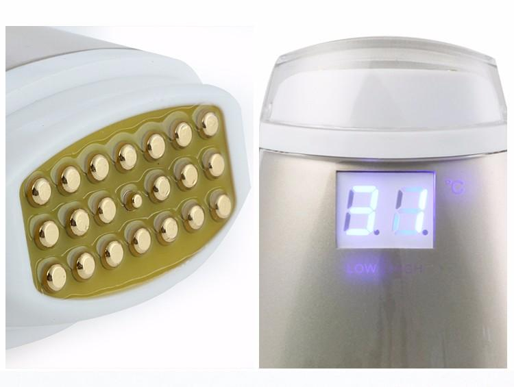 Portable Radio Frequency Wrinkle Removal Skin Lifting Dot Matrix Facial Massager