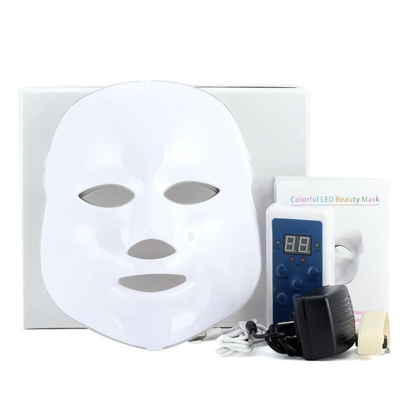 3/7 LED Facial Photon Anti Wrinkle Light Therapy Acne Mask