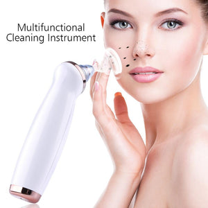 4 Heads and 3 Levels Vacuum Blackhead Suction Remover Dermabrasion Machine