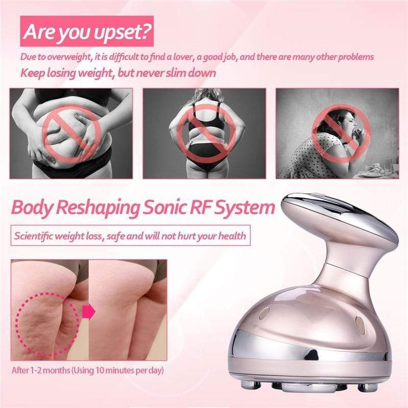 RF LED Cavitation Ultrasonic Slimming Massager Anti Cellulite Device FIRST CLASS CREW